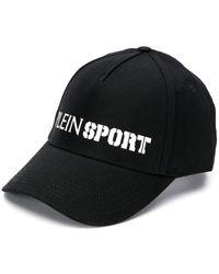 Philipp Plein Gorra de béisbol con logo en contraste - Negro