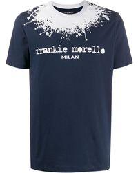 Frankie Morello ロゴ Tシャツ - ブルー