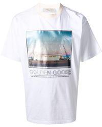 Golden Goose Deluxe Brand クルーネック Tシャツ - ホワイト