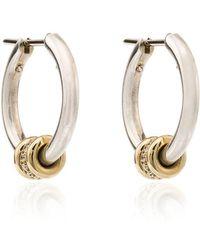 Spinelli Kilcollin - Ara Silver Hoop Earrings - Lyst