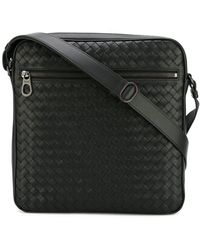 7ad3a0c133 Bottega Veneta - - Woven Effect Messenger Bag - Men - Leather - One Size -