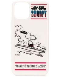 Marc Jacobs Peanuts Edition ホワイト Snoopy Iphone 11 ケース