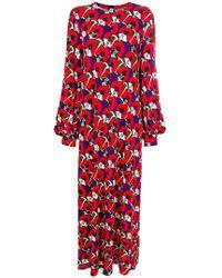 Marni - Flowers Long Dress - Lyst
