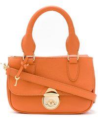 Sarah Chofakian Мини-сумка Sarah - Оранжевый