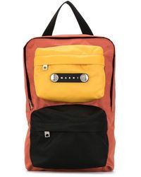 Marni Colour-block Tote Bag - Pink