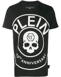 Philipp Plein - コントラストロゴ Tシャツ - Lyst