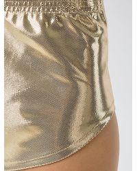 Adriana Degreas Metallic Shorts - Многоцветный