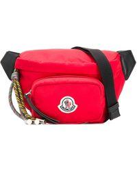 Moncler ロゴパッチ ベルトバッグ - レッド