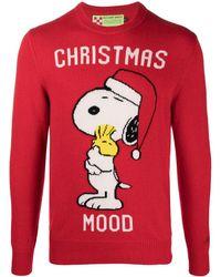Mc2 Saint Barth Maglione Snoopy - Rosso