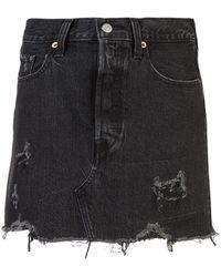 Levi's - Deconstructed Skirt - Lyst