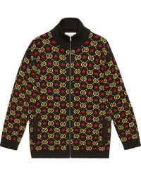 921e60bce Gucci Classic Harrington Jacket in Black for Men - Lyst