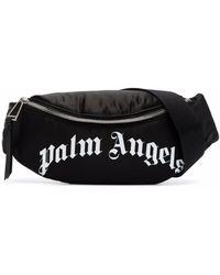 Palm Angels ロゴ ベルトバッグ - ブラック
