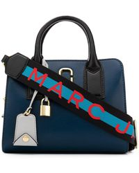 Marc Jacobs Tote 'Little Big Shot' - Blu