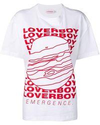 CHARLES JEFFREY LOVERBOY Loverboy プリント T-shirt - マルチカラー