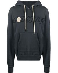 Youths in Balaclava Graphic-print Hoodie - Grey