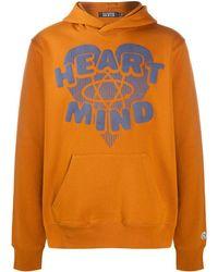 Billionaire Heart & Mind パーカー - ブラウン