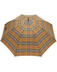 Burberry Regenschirm mit Vintage-Check - Mehrfarbig