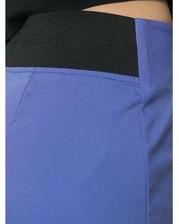 Les Copains Skinny Trousers - Purple