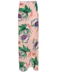 Brigitte Bardot Printed Maxi Skirt