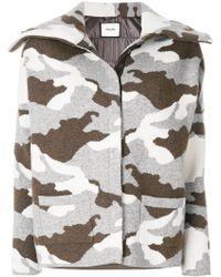 Max & Moi Giacca Con Stampa Camouflage - Multicolor