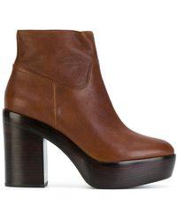 Ash - Platform Heel Boots - Lyst