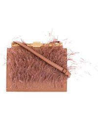 N°21 Embellished Satchel Bag - Multicolour