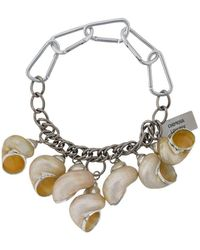 Chopova Lowena Multi-pendant Chunky Necklace - Metallic