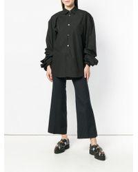 Junya Watanabe クロップド パンツ - ブラック