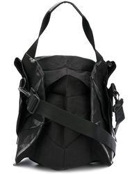 132 5. Issey Miyake Stylized Tote Bag - Black