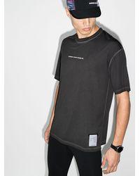 Satisfy X 50 Years ロゴ Tシャツ - ブラック