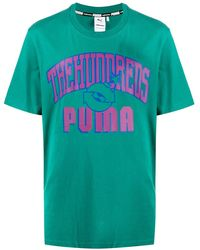 PUMA ロゴ Tシャツ - グリーン
