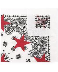 Guild Prime - Patterned Star Print Scarf - Lyst