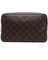 Louis Vuitton Косметичка 2005-го Года С Монограммой - Коричневый