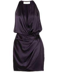 Michelle Mason ホルターネック ドレス - ブルー