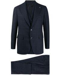 Tagliatore スリーピース スーツ - ブルー
