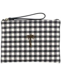 Tomas Maier - Chequer Canvas Pouch - Lyst