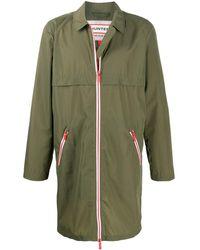 HUNTER Water-resistant Zip-up Coat - Green
