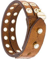 DIESEL - A-hoddelas Bracelet - Lyst