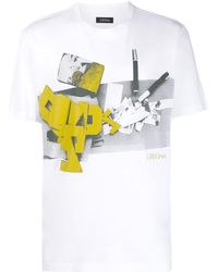 Z Zegna - プリント Tシャツ - Lyst