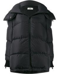 Fendi サイドパネル パデッドジャケット - ブラック