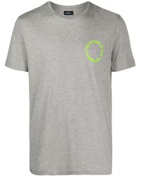 DIESEL - スローガン Tシャツ - Lyst