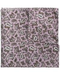 Pal Zileri - Paisley Print Handkerchief - Lyst
