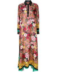 Dolce & Gabbana - Floral-print Dress - Lyst