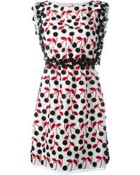 Giamba - Cherry Print Dress - Lyst