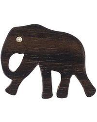 Marc Alary - Elephant Pendant 3チャームネックレス - Lyst