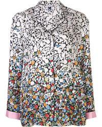 M Missoni Пижамная Рубашка С Цветочным Принтом - Многоцветный