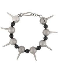 Balenciaga - Studded Bracelet - Lyst