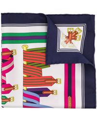 Hermès Foulard Les Sangles pre-owned - Multicolore