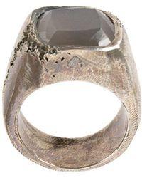 Tobias Wistisen - Moon Stone Embellished Ring - Lyst