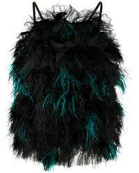 Loulou Ruffled Tulle Mini Dress - Multicolour